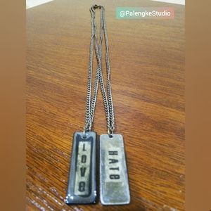 Love - Hate Necklace